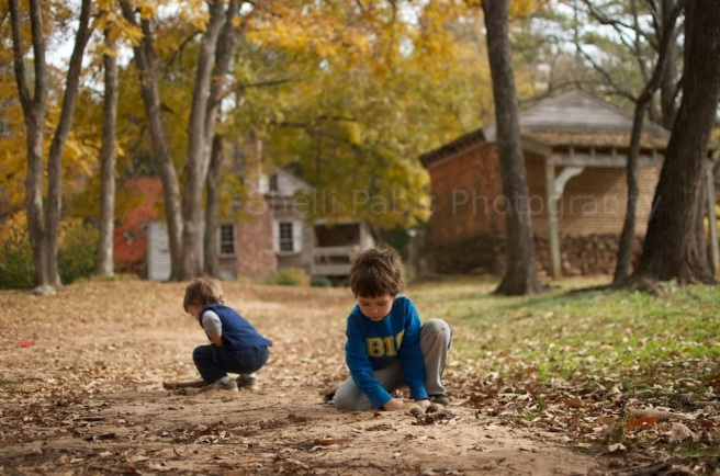 boys at harris homestead
