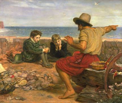 The Boyhood of Raleigh 1870 by Sir John Everett Millais, Bt 1829-1896
